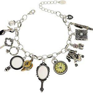 Fairytale Alice Cinderella Disney Charm Bracelet